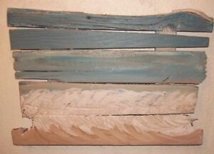 Image Is Loading Reclaimed Wood Driftwood Beach Art Ocean Seascape Modern