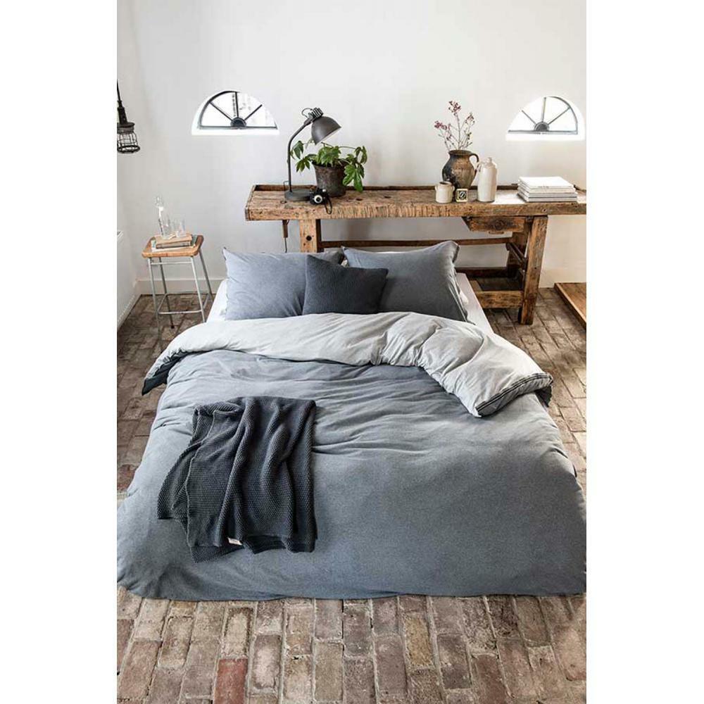 Bettbezug Casual beauty 240x200 220 grau - Walra - Baumwolle
