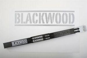 Belle 1 Paire Blackwood Salsa Carbon Massivement Drumsticks Carbosticks-afficher Le Titre D'origine