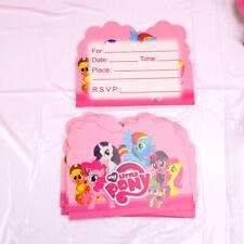My Little Pony Girls Birthday Party Tableware Kids Decoration Balloon Banner