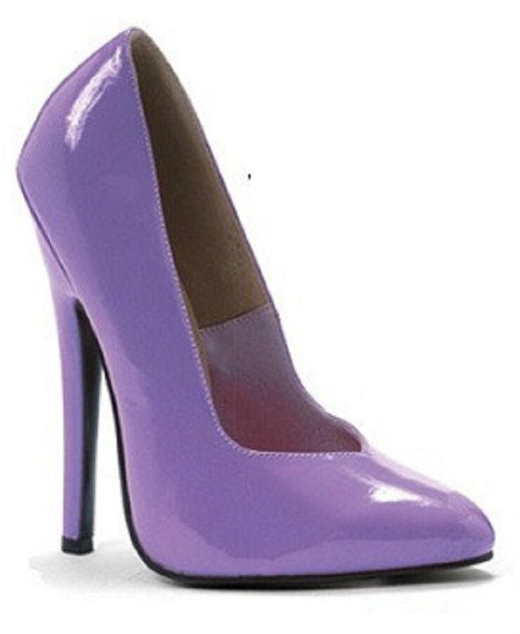 Dominatrix Pumps 6  Heel Pointed Toe Fetish 8-colors 8-colors 8-colors Larger Sizes 5-14 NIB 8260 956855