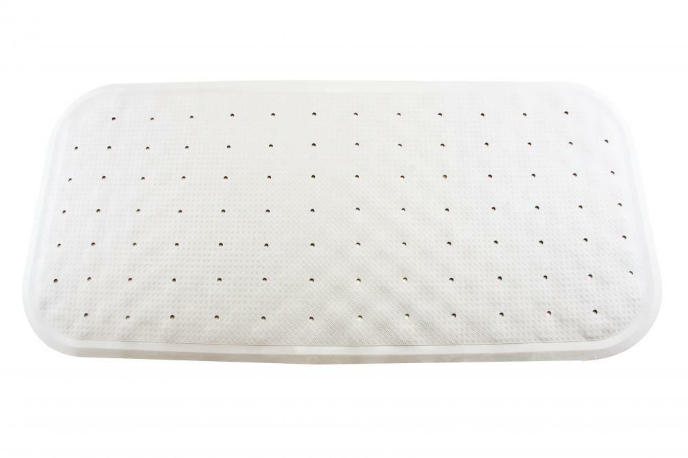 Apollo 76x35cm Non-Slip Rubber Bath Mat with Suction Cups