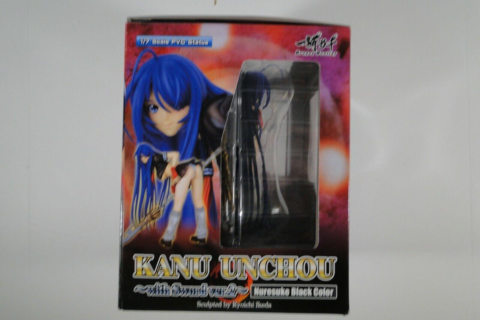 Kanu Unchou PVC Figure Ura Jake Version Dragon Destiny Ikki Tousen