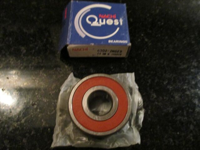 6302-2nse9 Nachi 6302rs Bearing Made in Japan for sale online