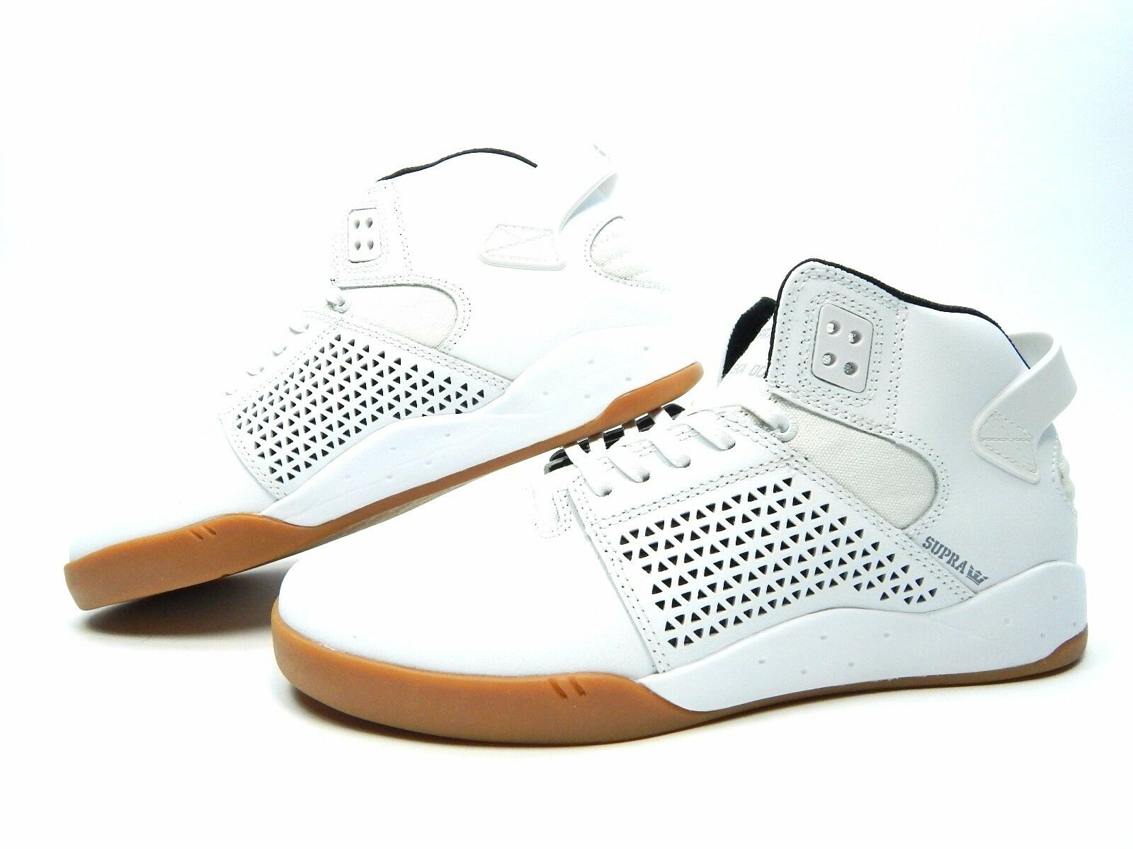 SUPRA SKYTOP III WHITE GUM 08000-135-M MEN SHOES SIZE 8 TO 10