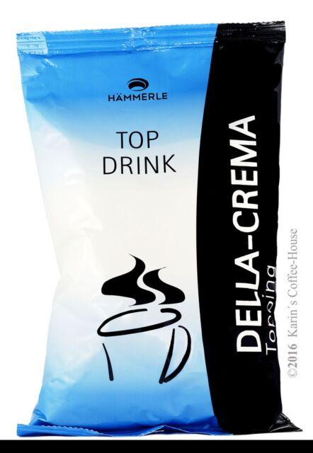 1 kg Hämmerle Drink Milchpulver Topping Della Crema für Heissgetränkeautomaten