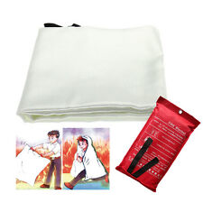 1mx1m Fire Blanket Emergency Survival Fire Shelter Safety Protector Home Tool