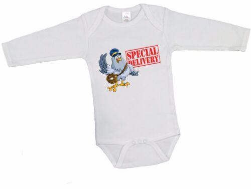 Livraison spéciale PIGEON Babygrow Garçons Filles Nouveau Né Baby Shower Cadeau Haut Débardeur