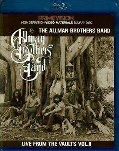 The-Allman-Brothers-Band-Live-From-The-Vaults-Vol-2-Blu-ray-Case-1-Disc-F-S