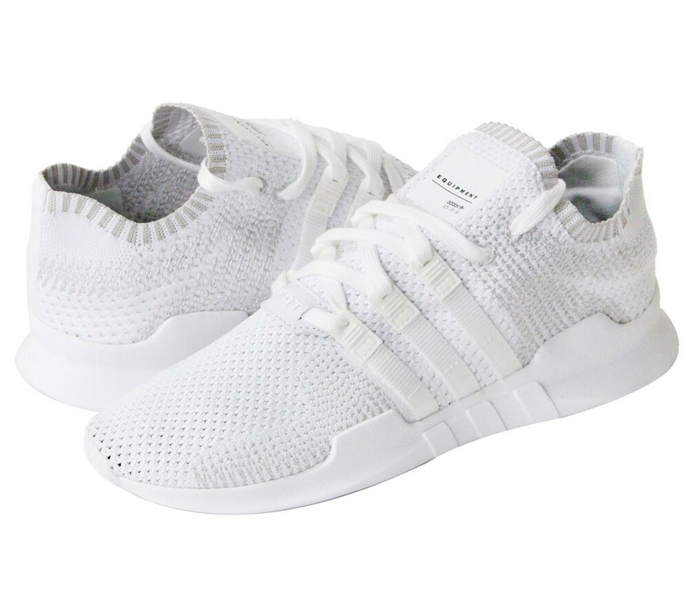 Adidas Originals Equipment Support ADV PK Primeknit Chaussures Hommes Blanc EQT b9391-