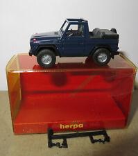 MERCEDES BENZ CLASSE G Cabrio 300ge w463 petrolio Metallizzato 1:87 Herpa