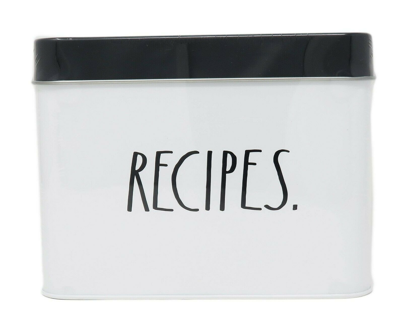 RECIPE DIVIDERS recipe inserts 4x6 recipe dividers wood dividers- recipe box cards custom recipe dividers BLACK Rae Dunn style