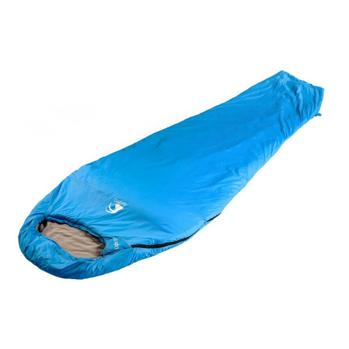 Alvivo light 0 poliéster saco de dormir azul