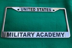 image is loading military license plate frame united states military academy - Military License Plate Frames