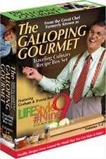 Lifestyle #9 - Vols. 1-4: Travelling Culinary Recipe Box Set (DVD, 2006,...