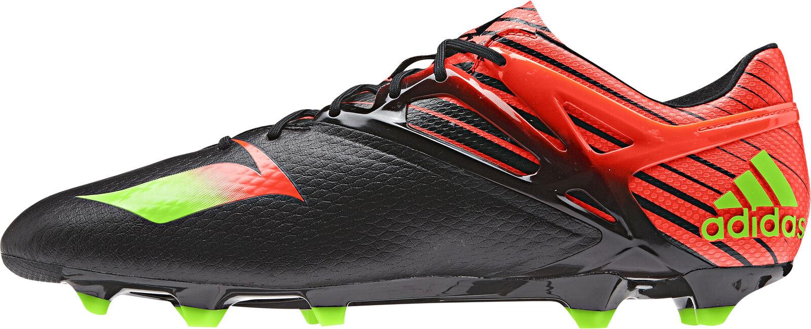 Adidas Messi 15.1 AG tierra firme para Hombre botas De Fútbol-Negro