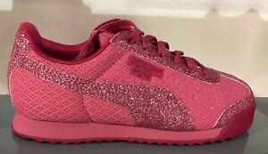 Details zu Puma Roma Glitz SL Pink 364614 01 Baby Toddler Shoes