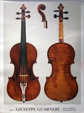 Poster Giuseppe Guarneri violino il Quarestani 1689