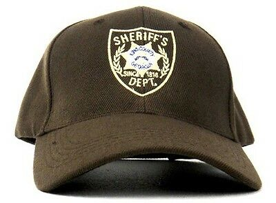 Adult The Walking Dead King County Sheriff's Dept. Rick Grimes Costume Hat Cap