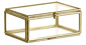 Madam Stoltz: Glasbox, Schmuck, Deko, Vintage, Gold