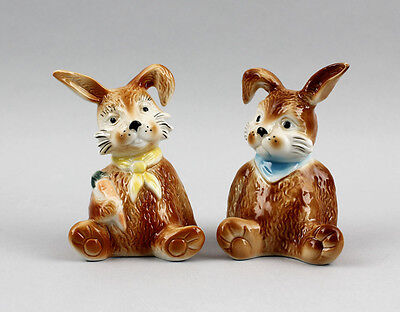 Porcelain Figurine Little Bunny Micky & Muckel Wagner & Apel H10cm 9942410 Carefully Selected Materials Decorative Arts