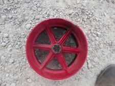 Farmall Ih Super A Sa Tractor Steel Ih Flat Belt Pulley