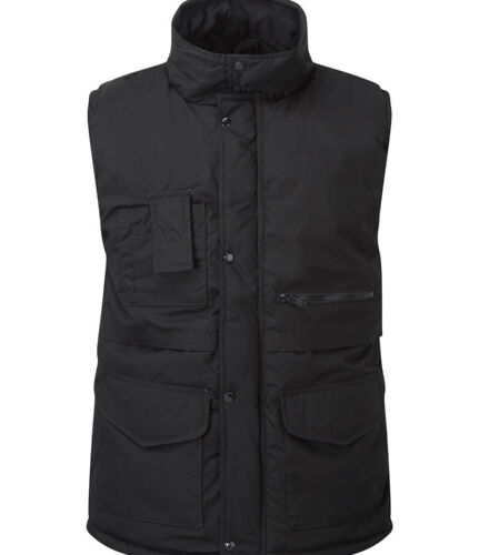 Mens Bodywarmer WAISTCOAT Jacket Gilet with Multi Pockets Quilted Warm Lining
