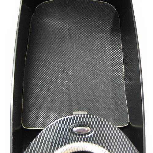 Universal Carbon Armrest Centre Console Storage Box For