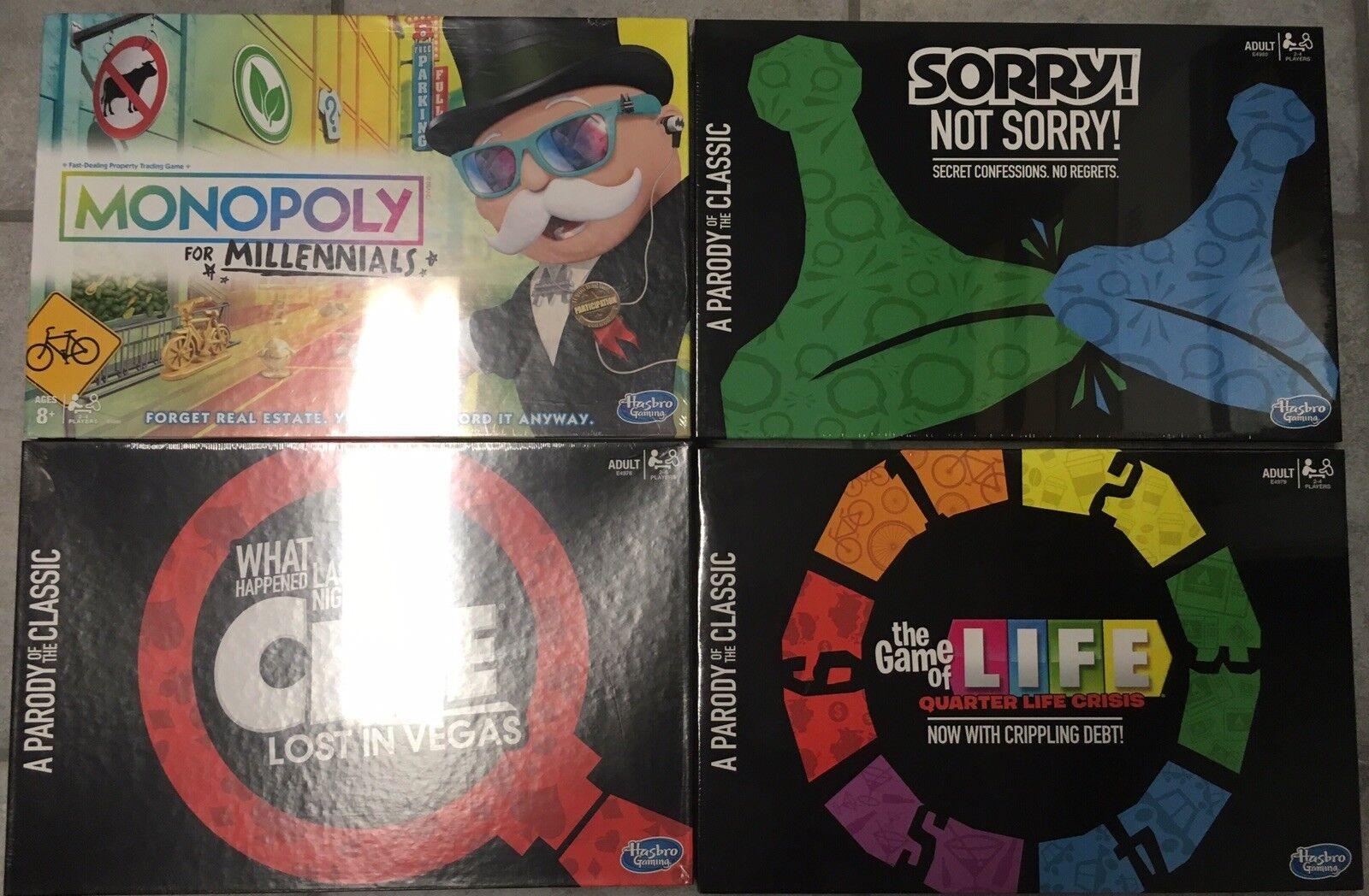 Monopolio para Milenio lo sentimos no lo sentimos pista Vegas vida parodia Lote De Juegos De Mesa
