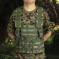 Military Tactical Modular Chest Rig Hunting Vest Cs Game Adjustable Vest Vs O6v2