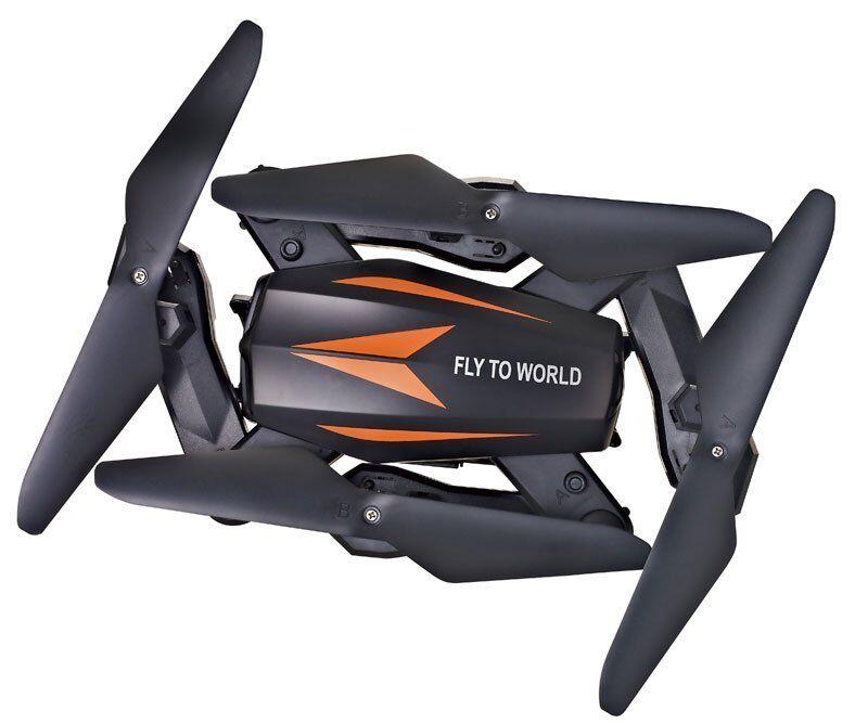 JJRC F12W Foldable RC FPV Drone-mantenimento di altitudine Telecamera HD WIFI One-Key app di ritorno