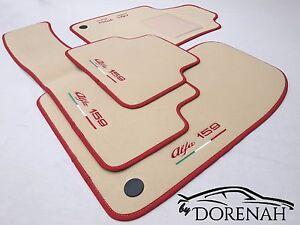 Rey Alfombrillas/® Alfombrillas Alfa Romeo 159 Beige