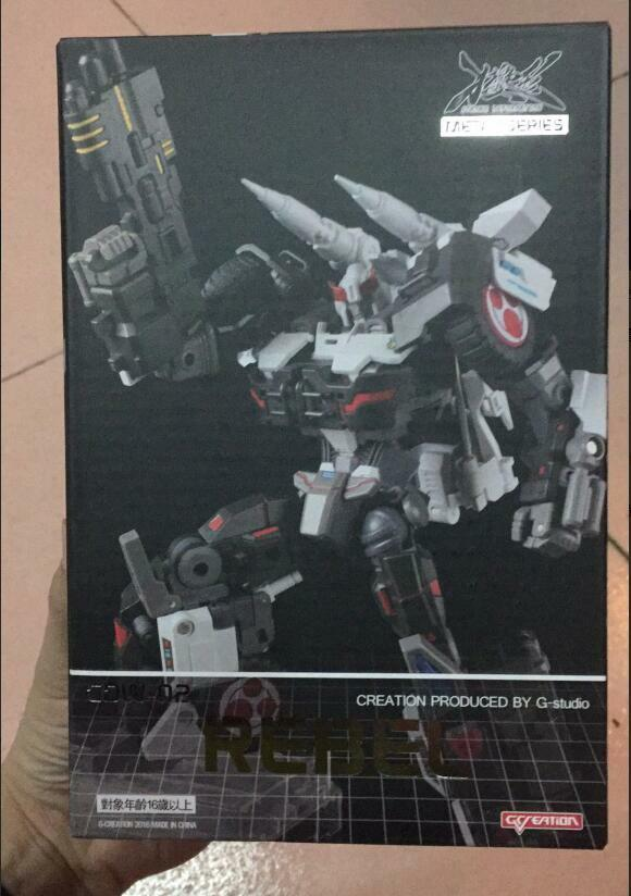 NEW Transformers toy G-creation GDW-02 Rebel Prowl IDW version Action figure toy