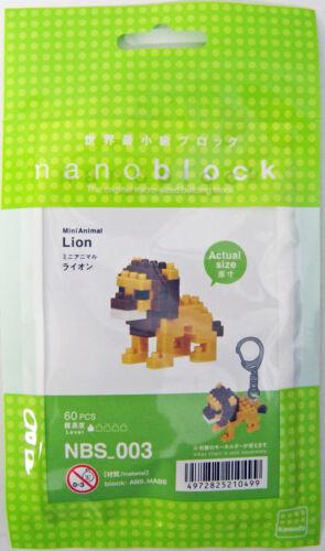 Kawada NBS-003 nanoblock Mini Animal Lion