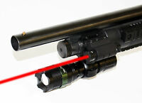 12 Gauge Shotgun Tactical Flashlight With Red Laser Kit From Trinity