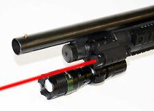 250ft range 300 lumens 3.5 Watt LED Flashlight With Red Laser Kit H&R Pardner