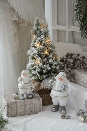 Weihnachtsmann groß Dekoweihnachtsmann Weihnachten Shabby Chic Vintage Landhaus