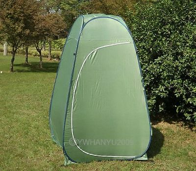 Polyester And Steel Army Green Privacy Camp Shelter Tent Hot Sale Shower Toilet