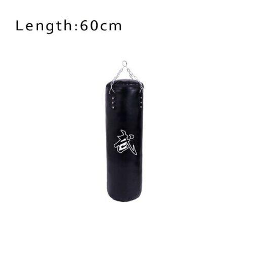 60cm//80cm//100cm//120cm PU leather hollow boxing sandbag Thai Boxing sand bag,