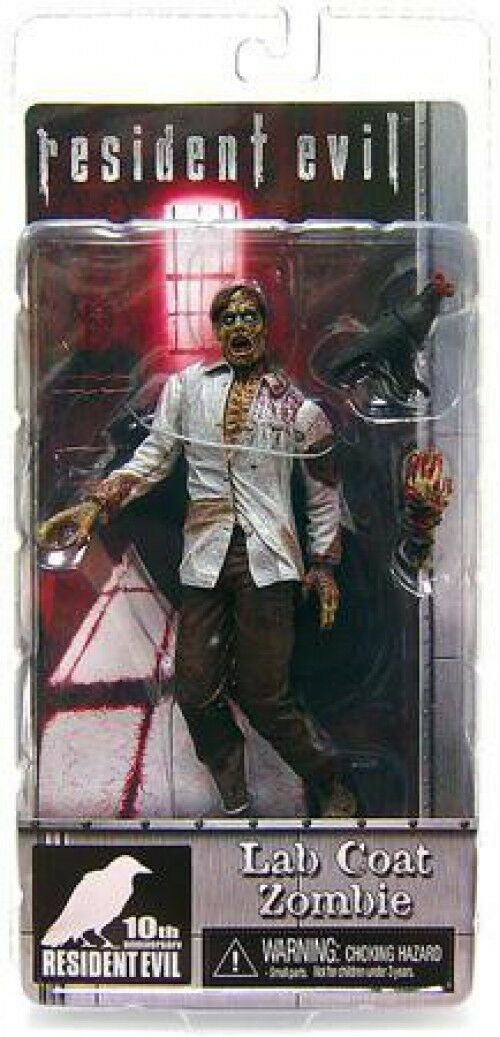 NECA Resident Evil 10th Anniversary Lab Coat Zombie Exclusive Action Figure