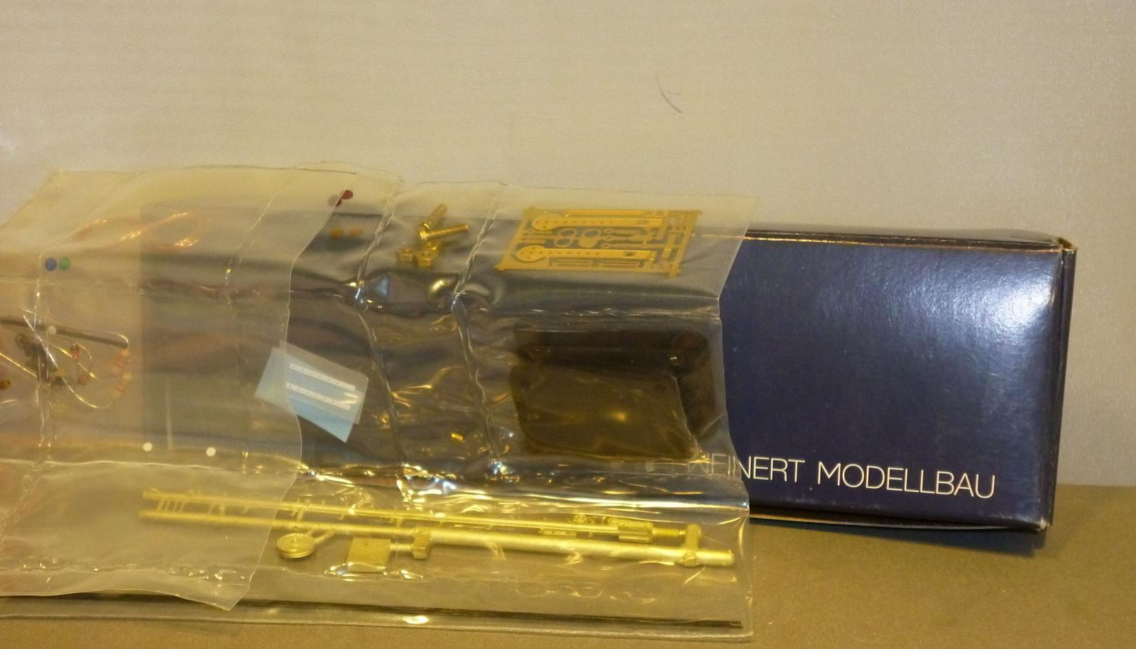 Weinert Ho 7012 Kit de Metal 2flg.hauptsignal Principal Iluminación SBB Nuevo y