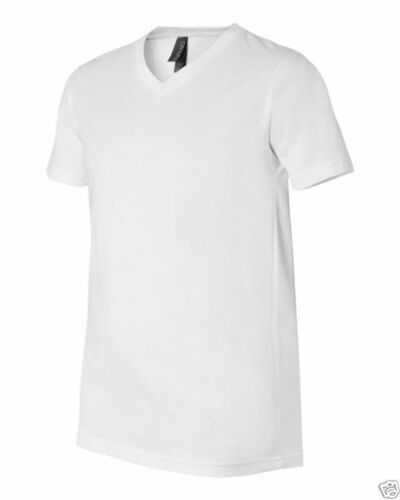 5 New Men/'s PJ/'s White//White V-Neck Shirt Size 5X-Large Lot of Brand New!