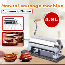 Horizontal 48l Sausage Stuffer Maker Machine For Home Kitchen Commercial Use