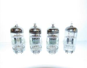 4 12AT7WA, ECC81 amplifier tubes.(3 Sylvania, 1 Tung-Sol).  TV-7/U test strong.