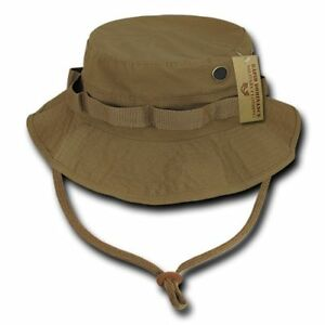 Image is loading Coyote-Military-Spec-Ripstop-Boonie-Hunting-Fishing-Outdoor - c7e7a56494bd