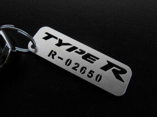 KEYCHAIN HONDA CIVIC X TYPE-R FK8 FK2 SPORT EXECUTIVE PRESTIGE TOURING VTEC EX