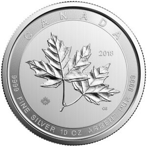 10-oz-2019-Silver-Magnificent-Maple-Leaf-Coin-9999-RCM-Royal-Canadian-Mint