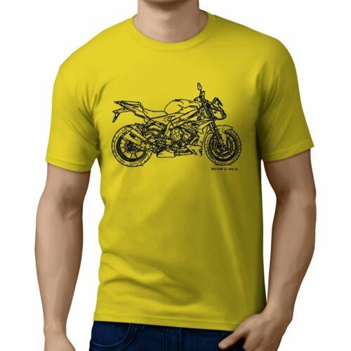 JL Illustration For A BMW S1000R 2017 Motorbike Fan T-shirt
