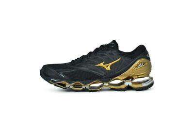 Mizuno Wave Prophecy 8 Nova Men's Running Shoes Black Gold J1GC191750 19U | eBay