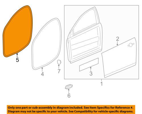 Chevrolet GM OEM 11-15 Volt Front Door-Weatherstrip Seal on Body 20993866